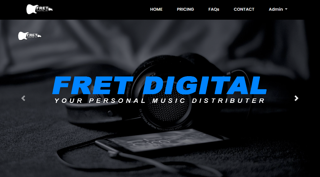 FretDigital - Your Personal Music Distributer