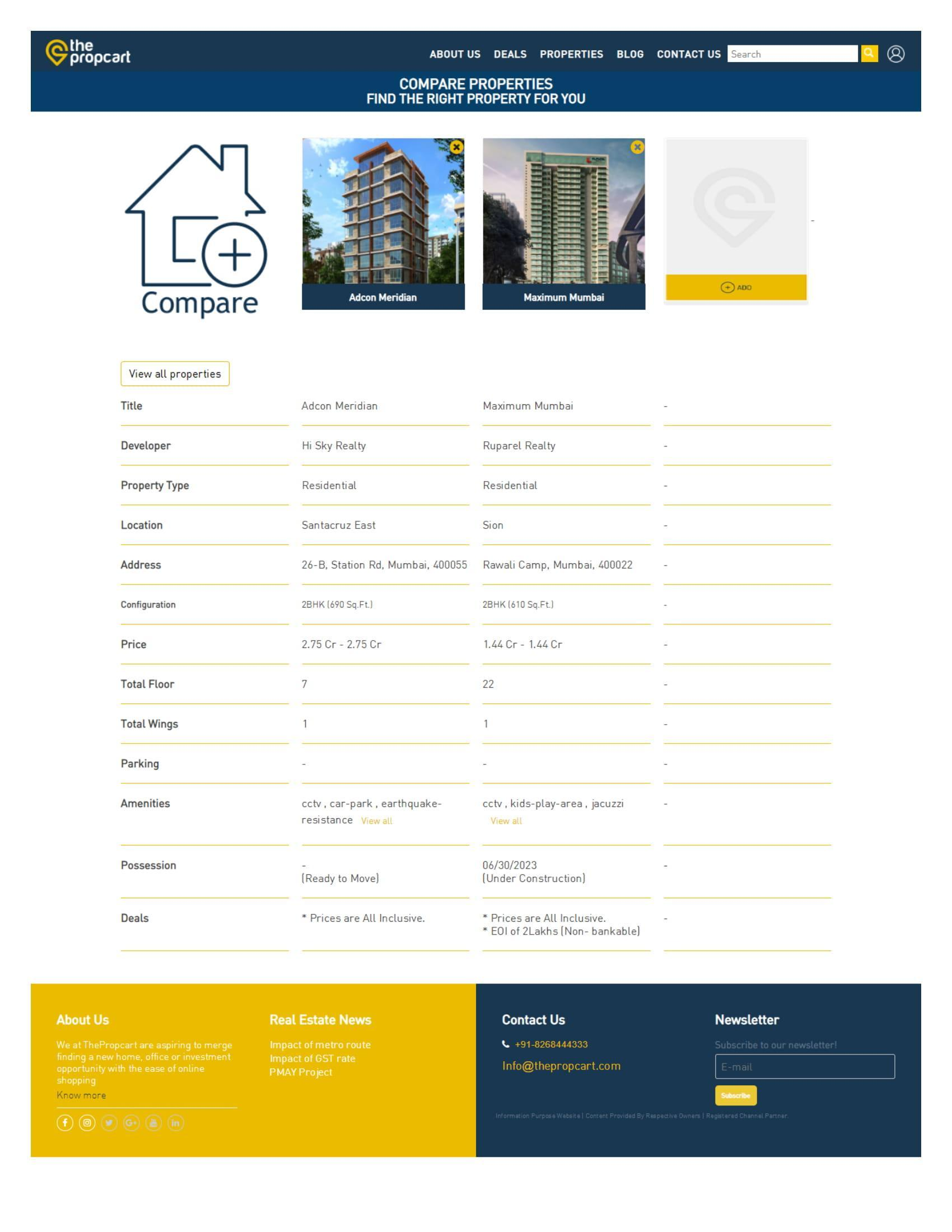 The Propcart - No.1 Real Estate Consultant